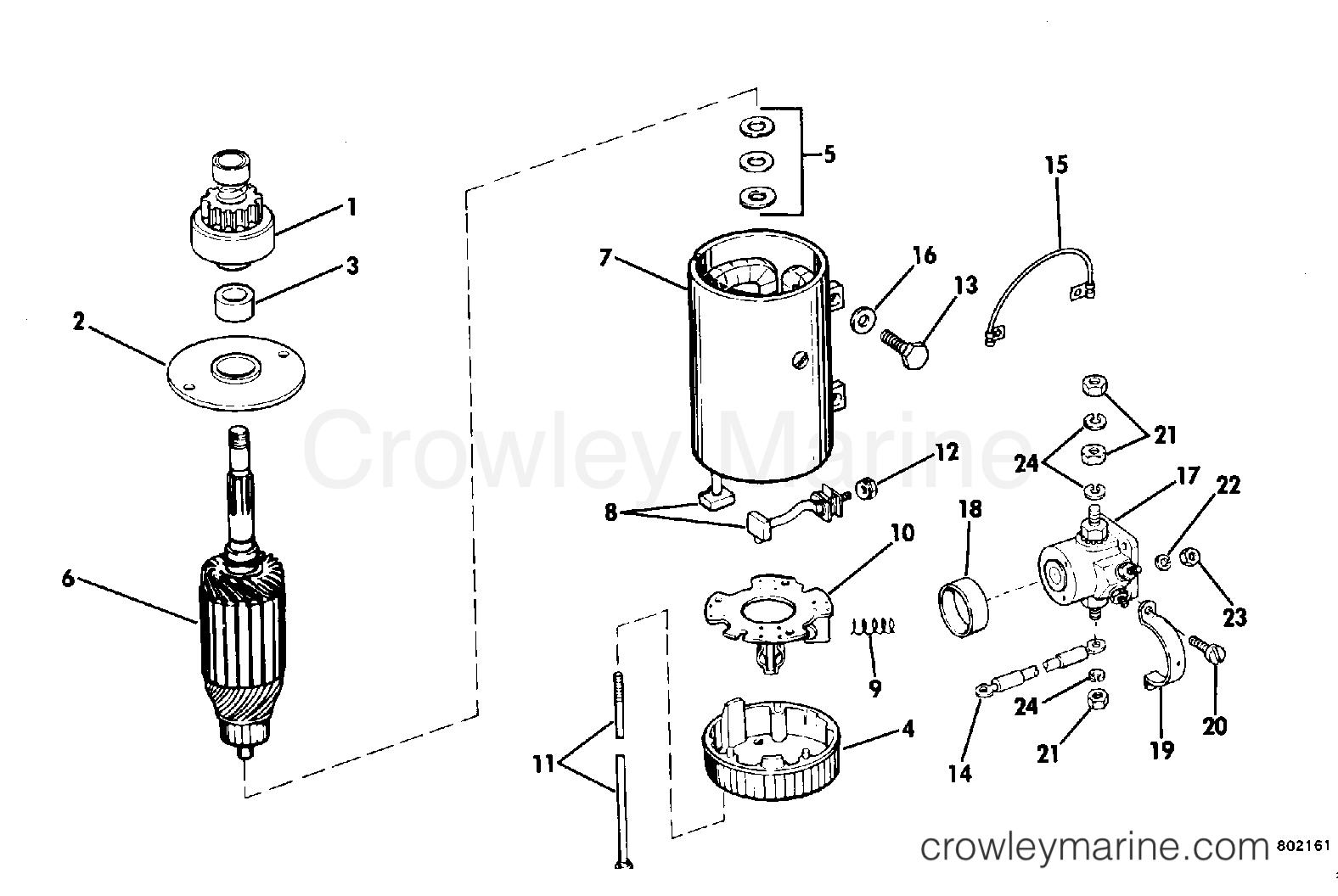Electric Starter Amp Solenoid Prestolite Mgd Amp Poa
