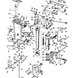 diagram of 1972 25e72r johnson outboard gearcase diagram and parts diagram of 1972 65esl72s johnson outboard motor cover diagram and [ 1274 x 1614 Pixel ]