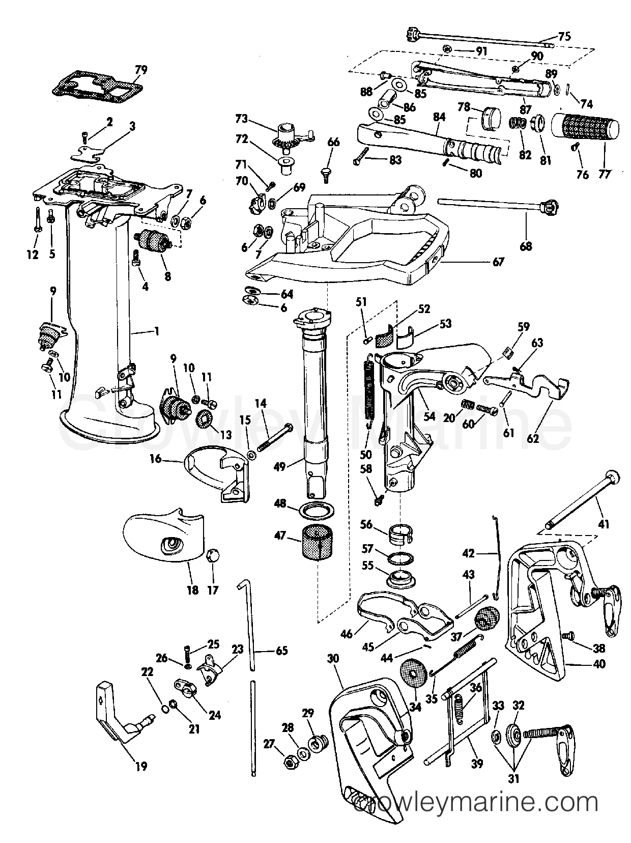 johnson 90 hp wiring diagram