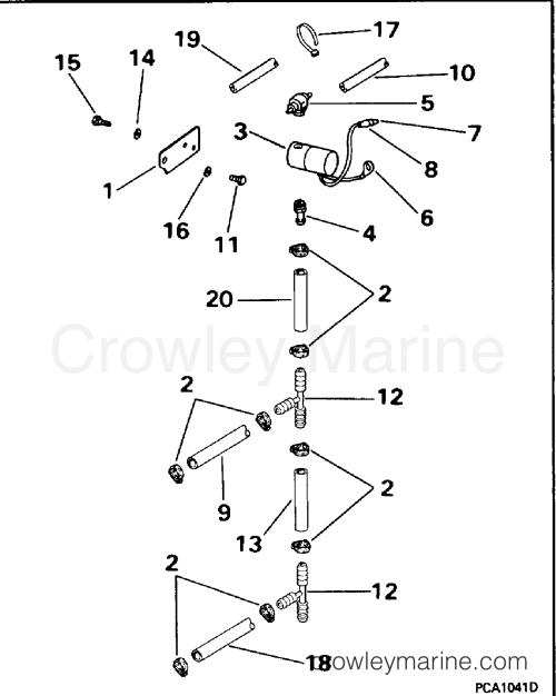 small resolution of 1994 omc turbojet 115 115jeera primer solenoid section