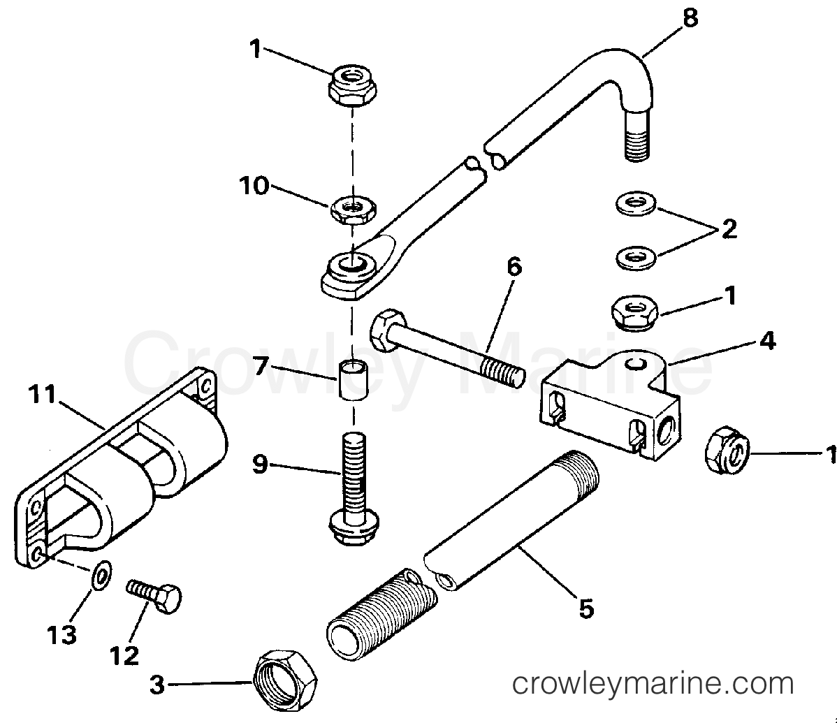 Dual Cable Steering Connector Kit Parallel Entry
