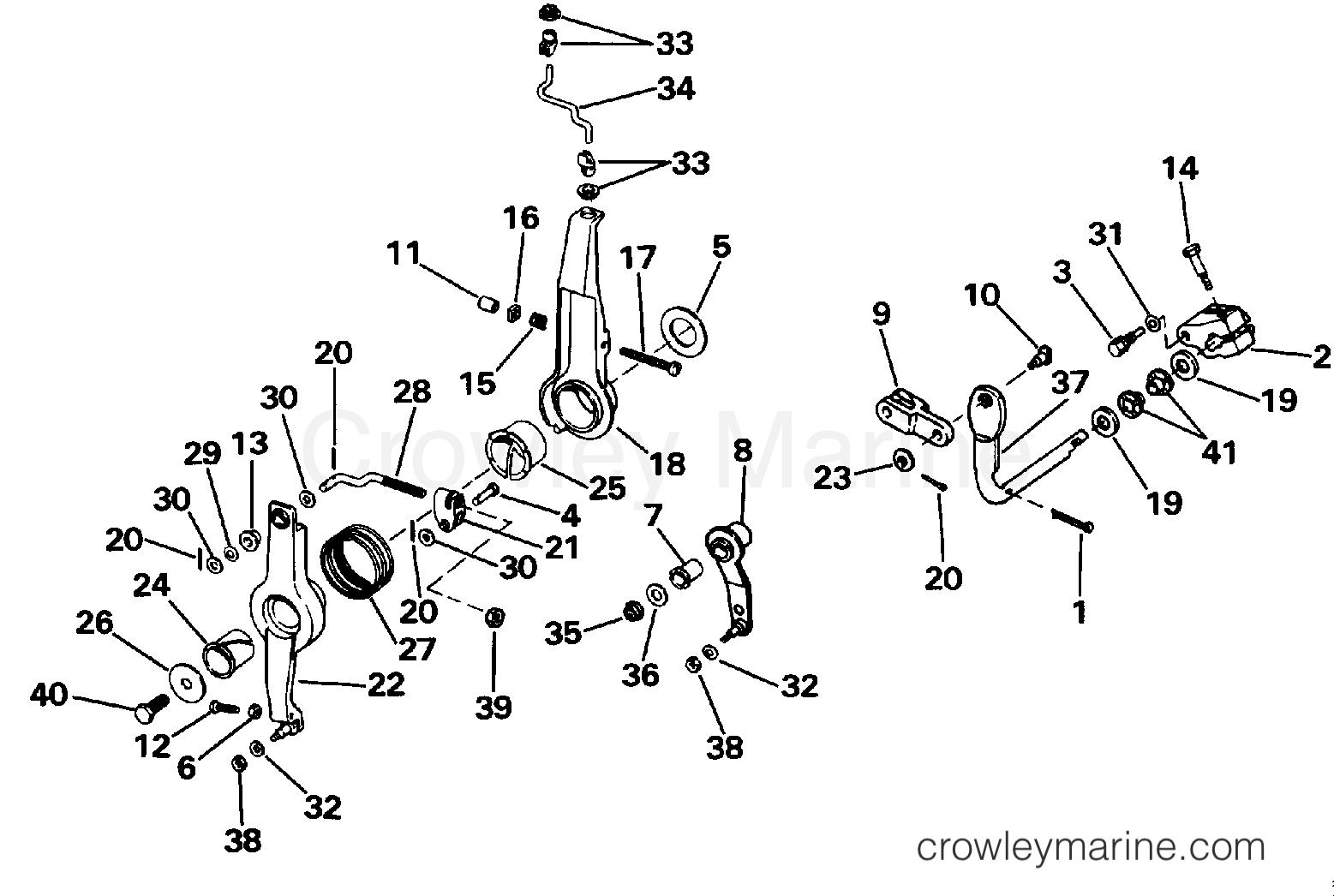 Throttle Amp Shift Linkage