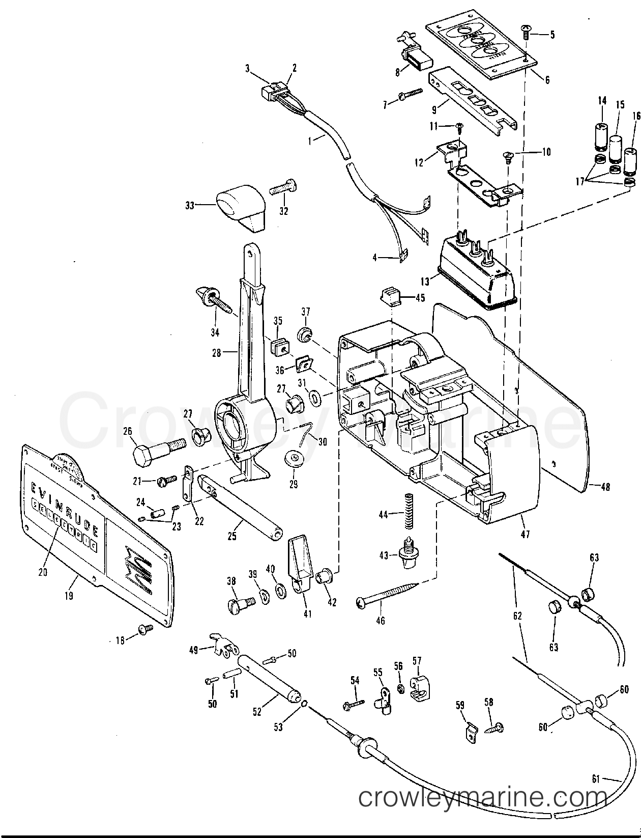 Omc Shifter Diagram, Omc, Free Engine Image For User