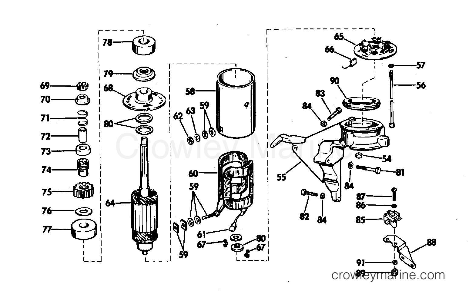 Evinrude Electrical System Diagram