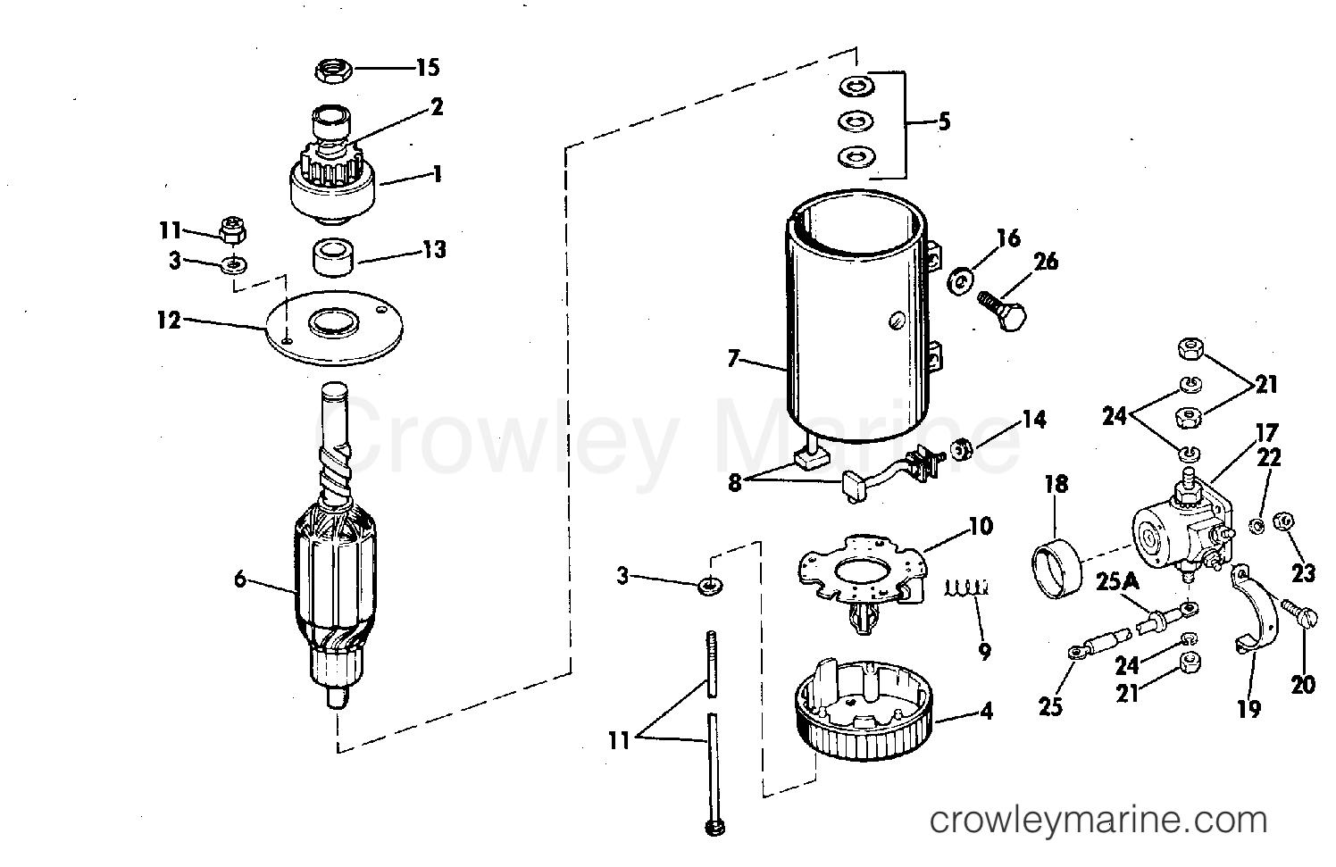 Electric Starter Amp Solenoid Prestolite Models Mgd Mgd