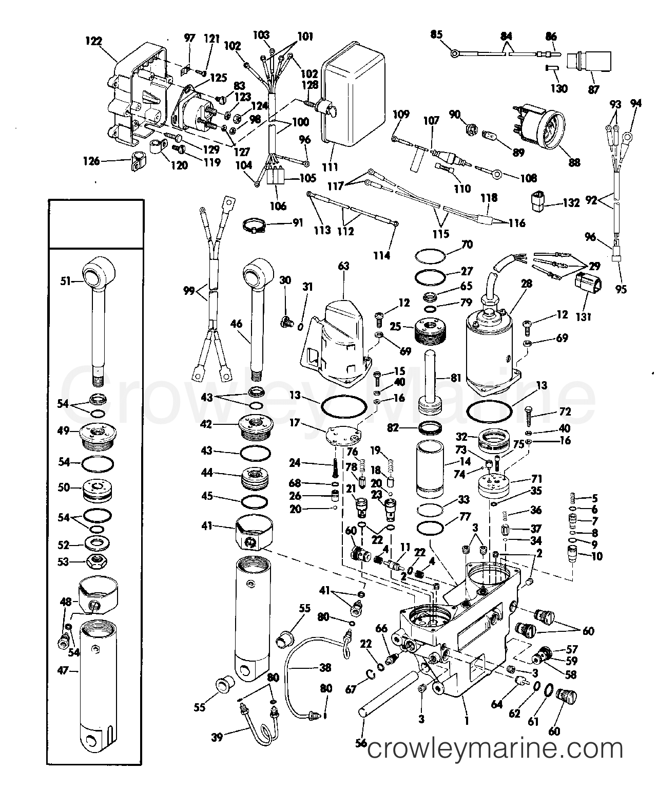 26 Johnson Tilt And Trim Diagram
