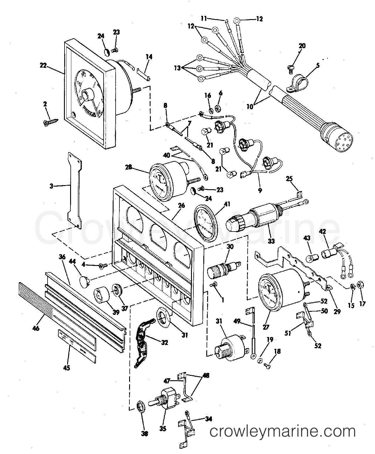 INSTRUMENT AND PANEL ASSEMBLY OPTIONAL ITEM-ALL MODELS