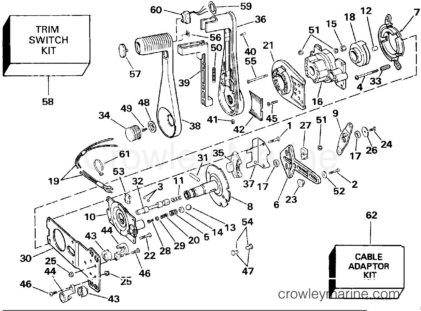 Omc Throttle Control Box Diagram