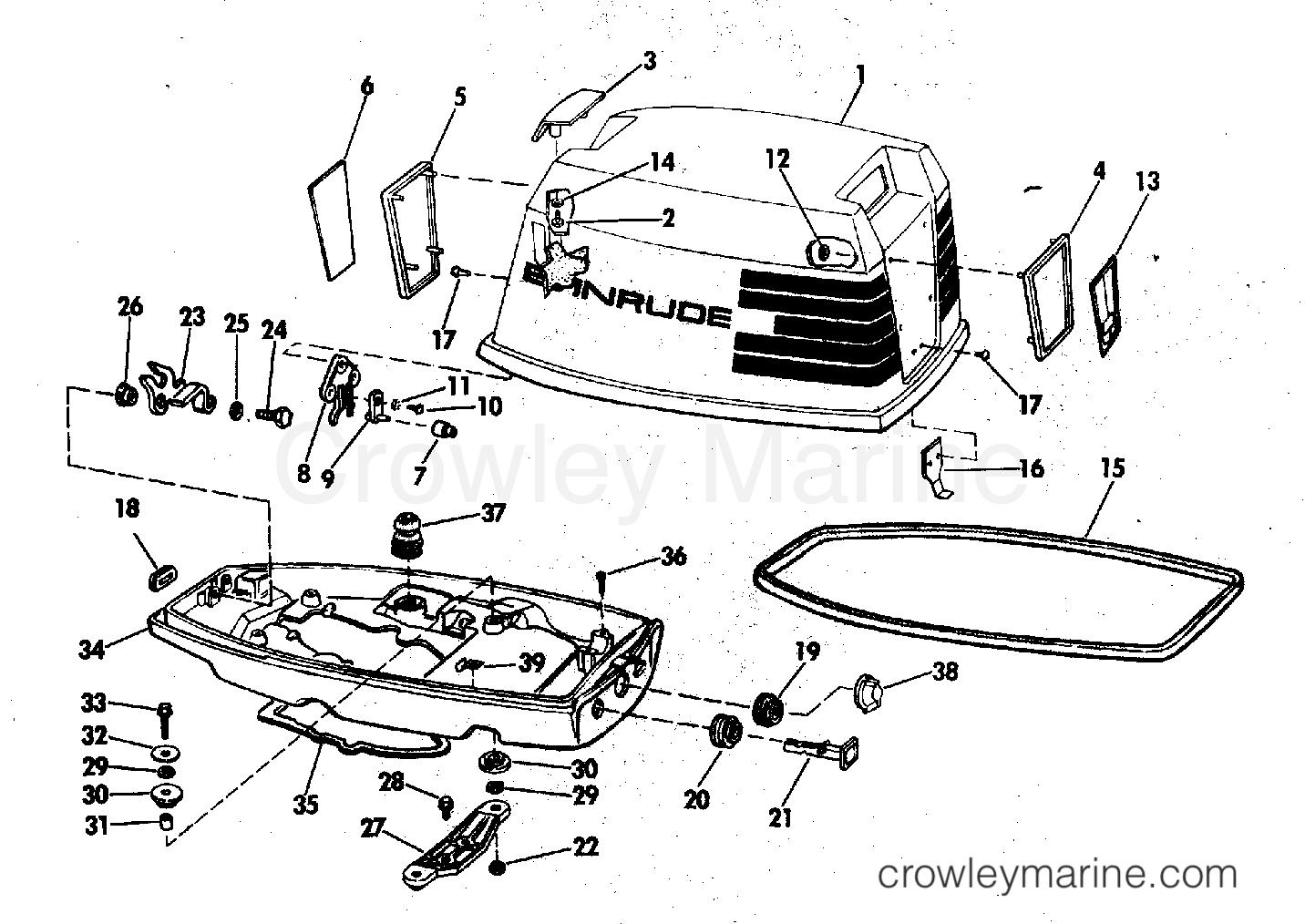 Evinrude Outboard Motor Diagram
