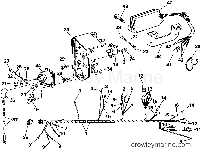 Engine Wire Amp Shift Module