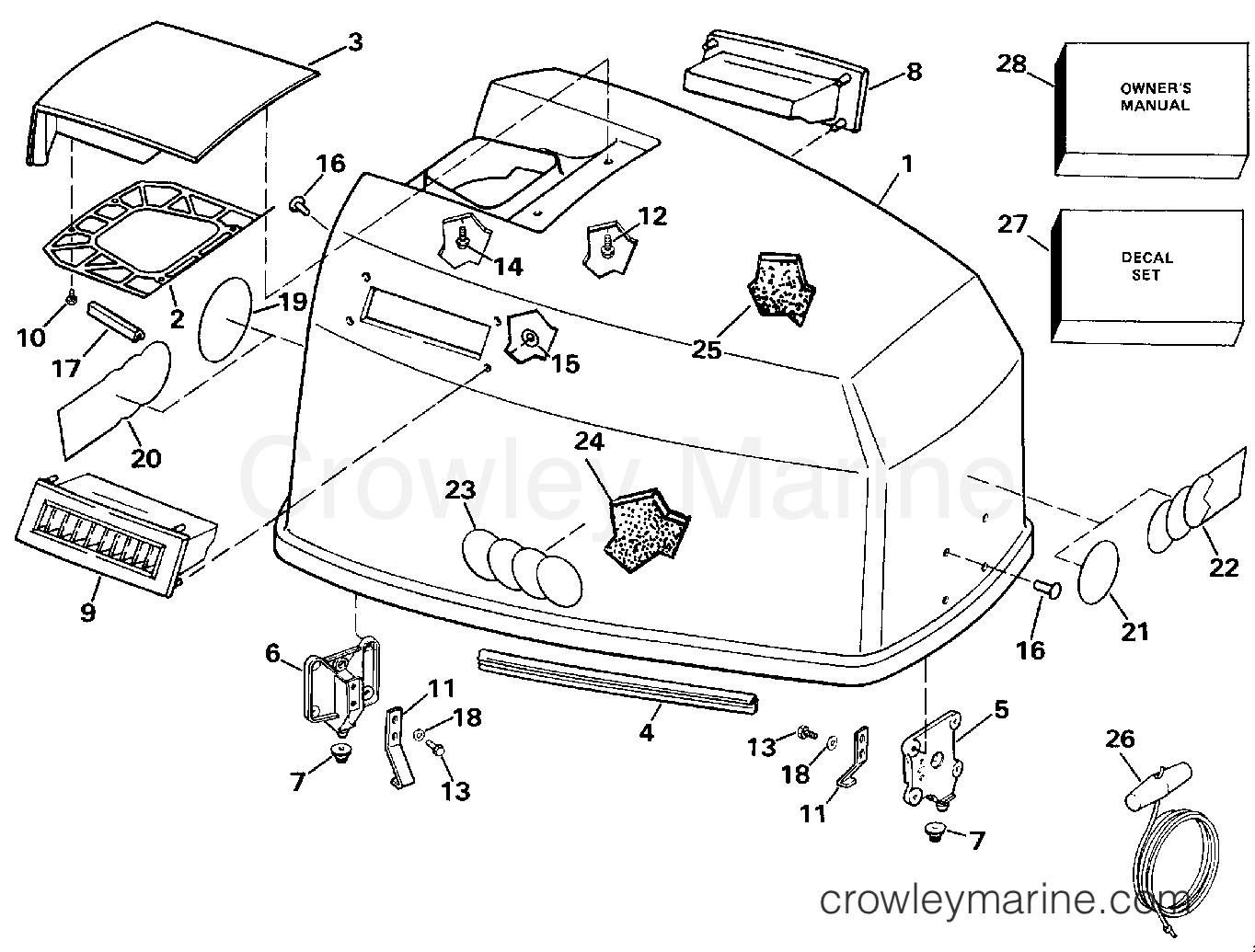 125 Evinrude Outboard Motor