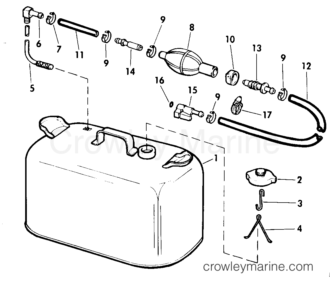 Fuel Tank Without Gauge