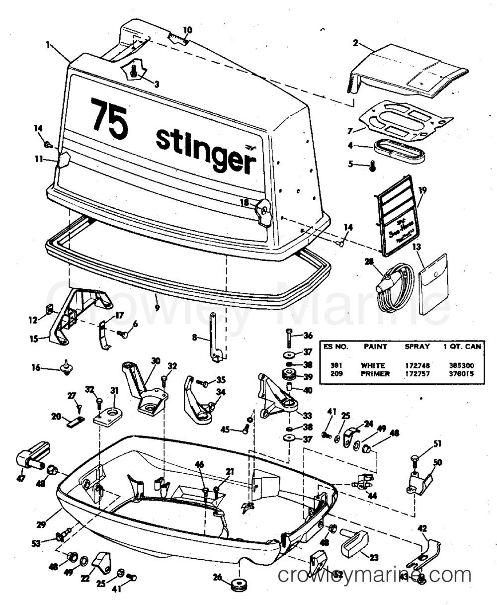 medium resolution of diagram of 1978 70el78c johnson outboard motor cover diagram andmotor cover 1978 johnson outboards 70 70el78c