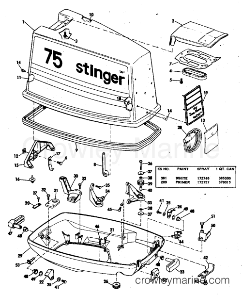 small resolution of diagram of 1978 70el78c johnson outboard motor cover diagram andmotor cover 1978 johnson outboards 70 70el78c