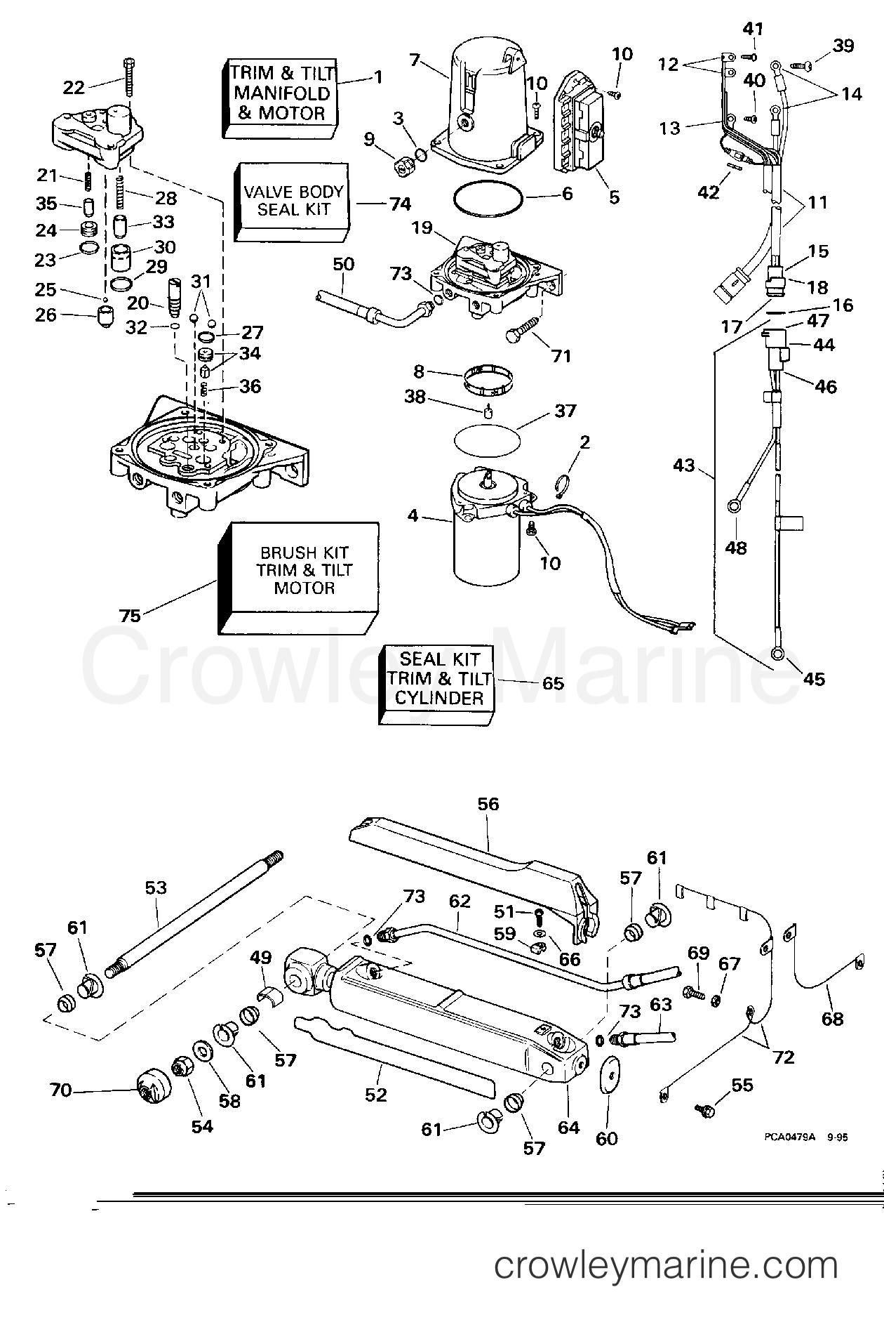 Power Trim Amp Tilt