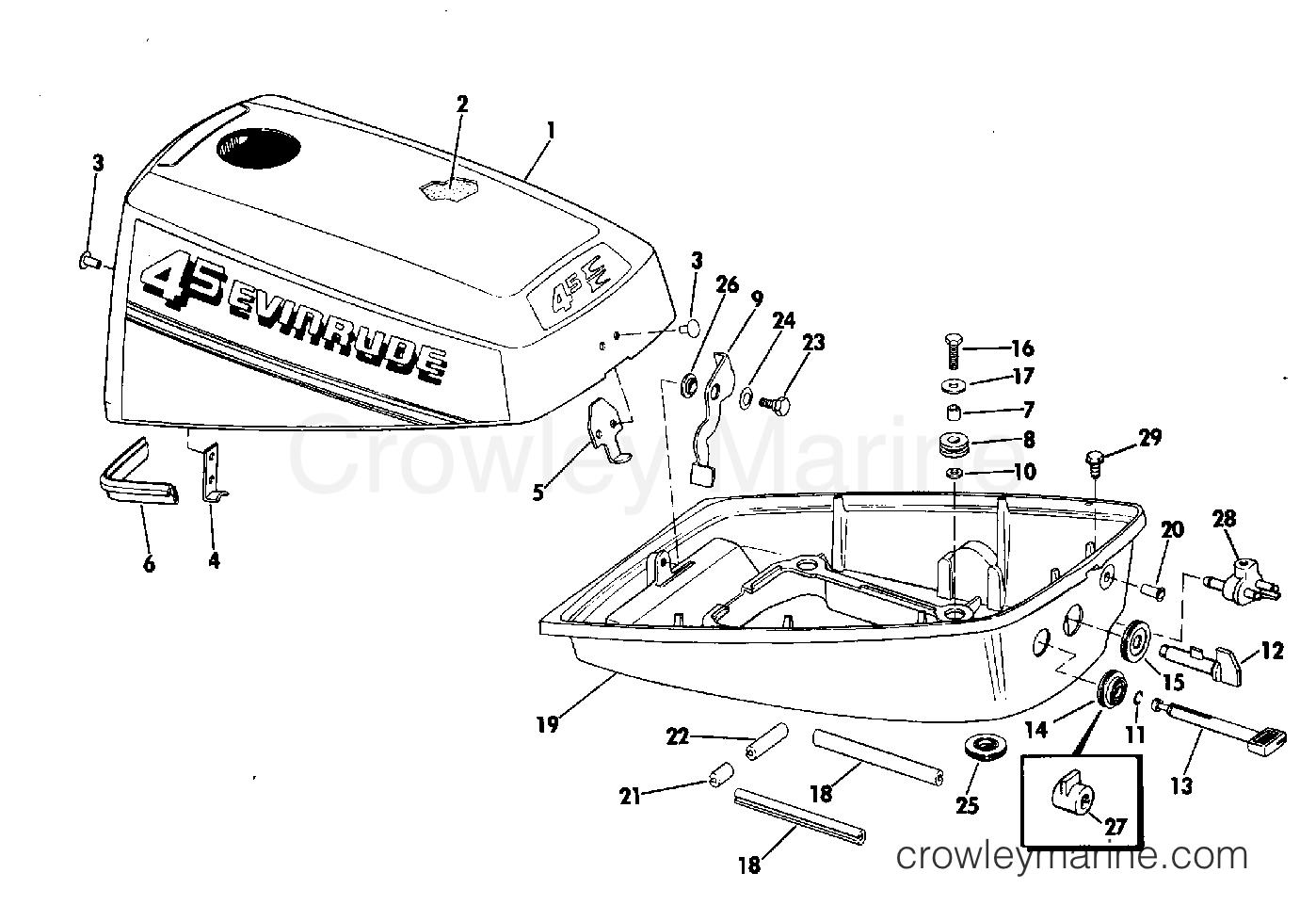 Motor Cover 4 5