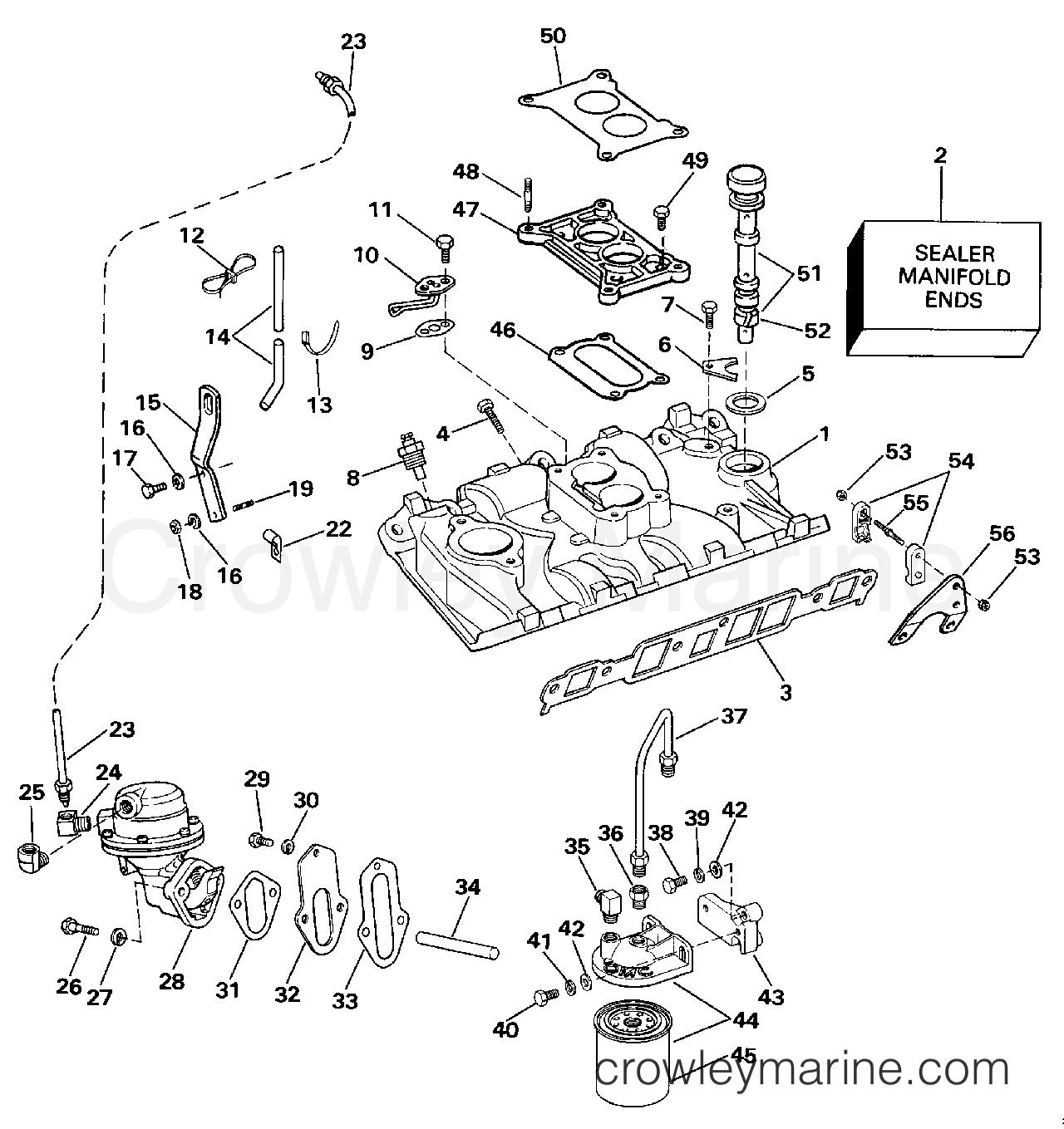 Intake Manifold Amp Fuel Pump