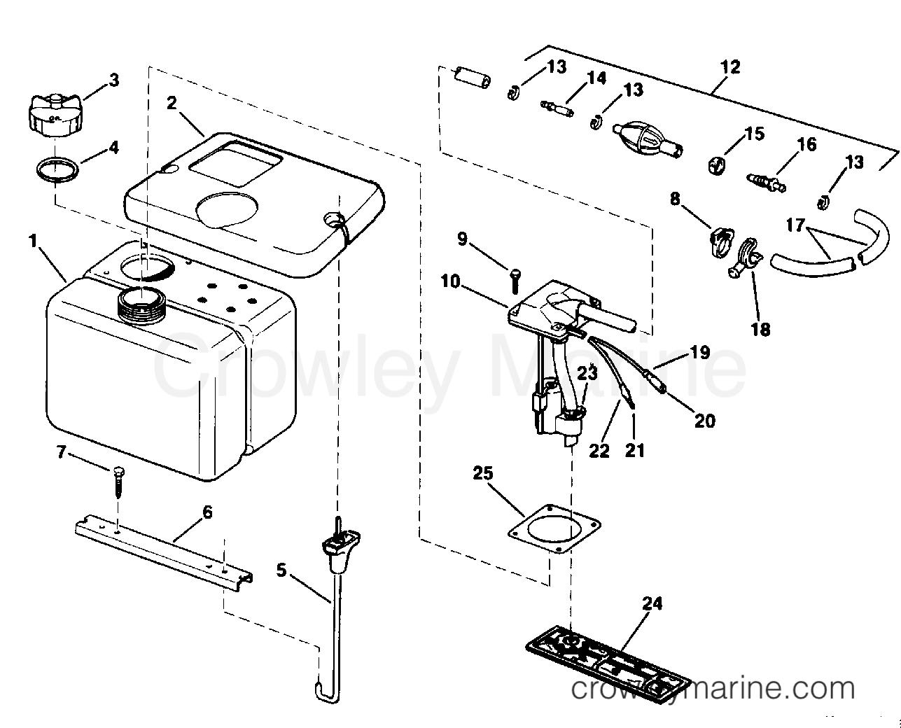 Vro Oil Tank Kit 1 8 Gallon