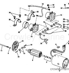 1969 omc stern drive 210 tufm 69b tilt motor group prestolite model etk [ 1342 x 998 Pixel ]