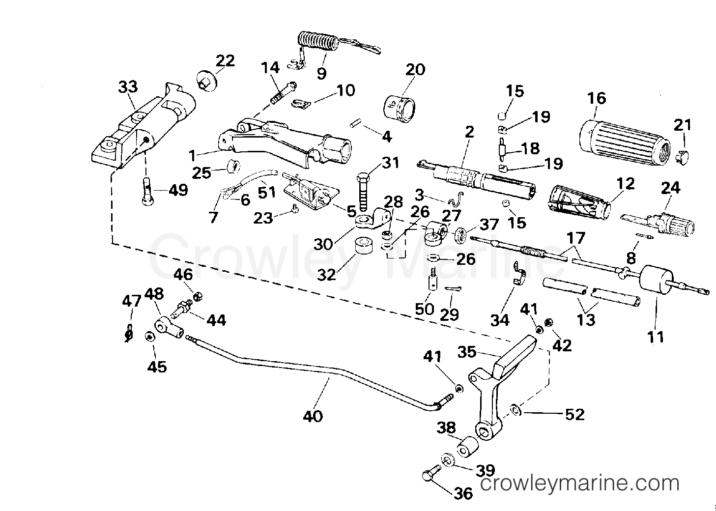 Steering And Shift Handle