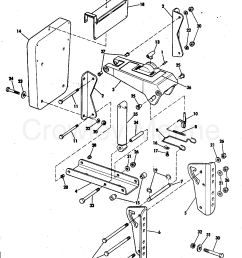 1977 rigging parts accessories miscellaneous auxiliary motor bracket kit 2 thru 15 hp section [ 1278 x 1619 Pixel ]
