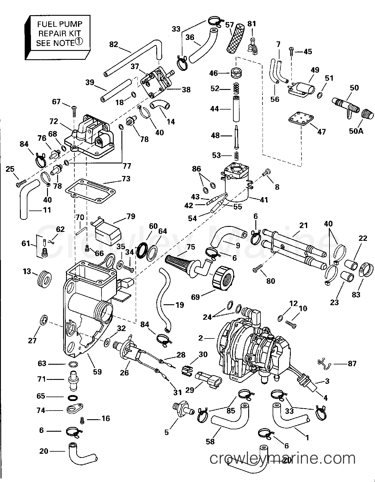 Fuel Bracket Amp Components