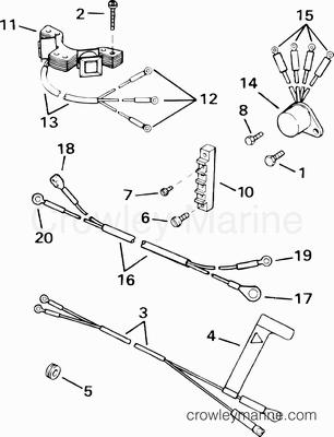 Mercury Force Wiring