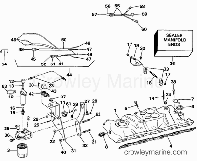 1977 Evinrude Wiring Diagram 2003 Johnson 50 HP Wiring