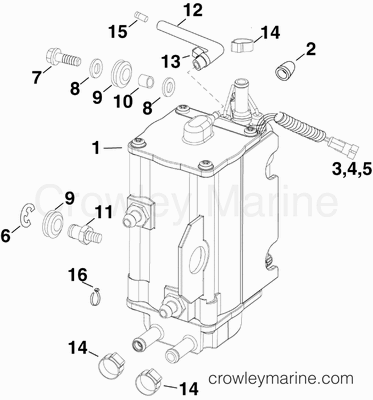 Fuel Filter Housing Seal Coast Guard Housing Wiring