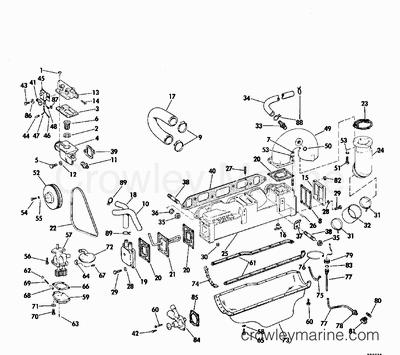 Evinrude Tilt And Trim Diagrams 40 HP Evinrude Throttle