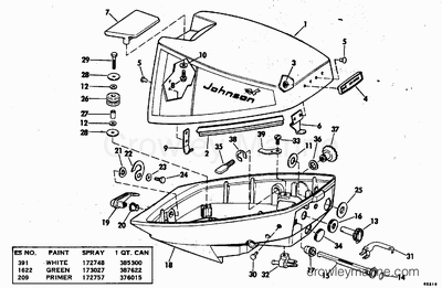 60 Hp Mercury Outboard Wiring Diagrams 60 HP Evinrude