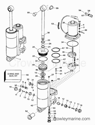 28 Hp Evinrude Wiring Diagram Evinrude Exhaust Wiring