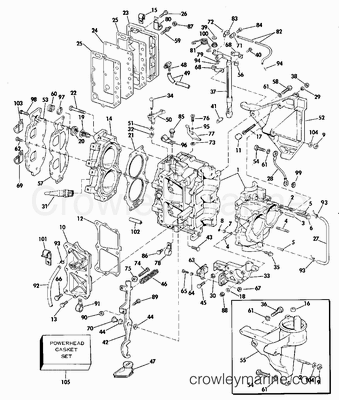 Diagram Of 1980 Electrical Omc Outboard Accessories Control Box