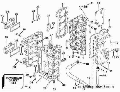Johnson Wiring Diagram 71