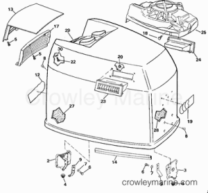 1989 Johnson Outboards 200 [J200STLCEB]  Parts Lookup