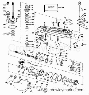 Yamaha Outboard Steering Diagram, Yamaha, Free Engine