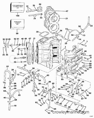 Evinrude Johnson Outboard Fuel Pump, Evinrude, Free Engine