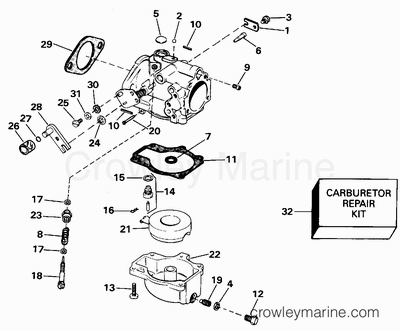 Evinrude 4 Hp Outboard Diagram Evinrude Yachtwin 4 HP
