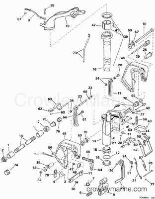 1988 Johnson 30 Hp Outboard Wiring Diagram, 1988, Free