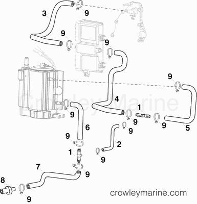 Oil Filter Adapter Gasket Engine Housing Engine Oil Filter
