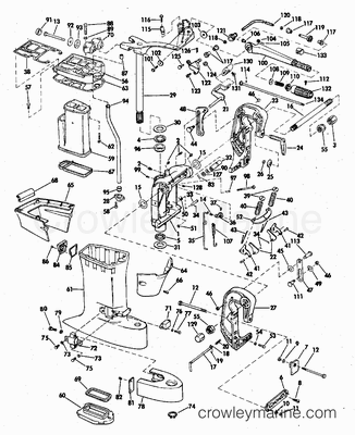 Unit Diagram And Parts List For Superwinch Winchparts Model X3