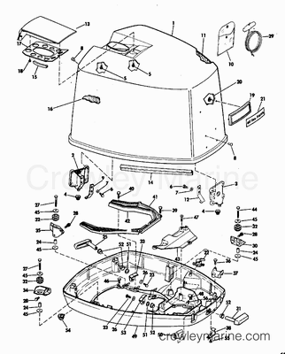 1978 Johnson 25 Hp Wiring Diagram