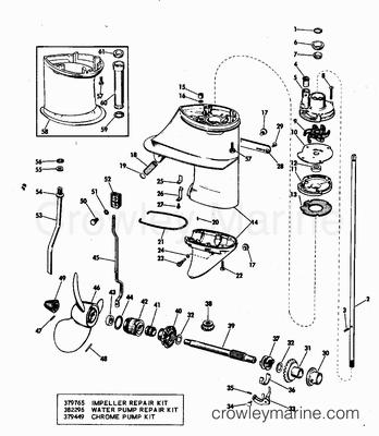 9 Mercury Outboard Engine Parts Diagram Old Mercury