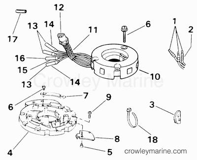 Yamaha 25 4 Stroke Outboard Ignition Diagram Yamaha