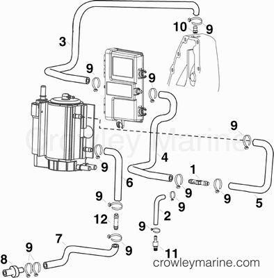 Yamaha Outboard Engine Harness Mercruiser Engine Harness