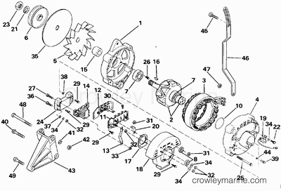 Marine Ignition Switch Wiring Diagram Marine Starter
