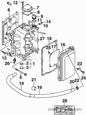 4 Stroke Engine Intake Manifold 4 Stroke Engine Flywheel