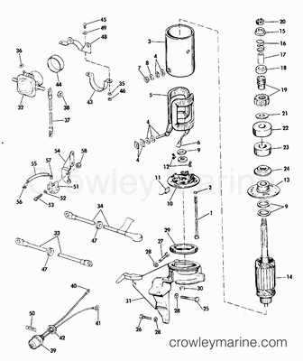 1977 Evinrude 115 Hp Diagram 25 HP Mercury Lower Unit