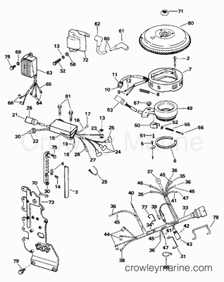 50 Hp Mercury Carburetor Parts Diagram 35 HP Mercury