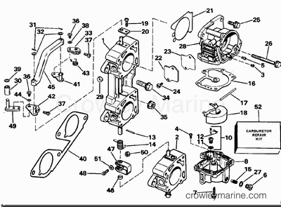 Omc Stern Drive Wiring Diagram 1972 50 HP Evinrude Wiring
